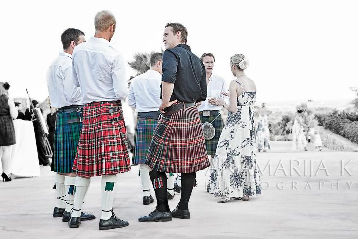 las faldas escocesas son sexy