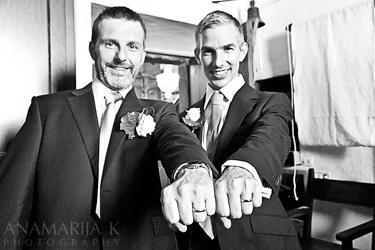 ¡Ahora los dos estamos casados!