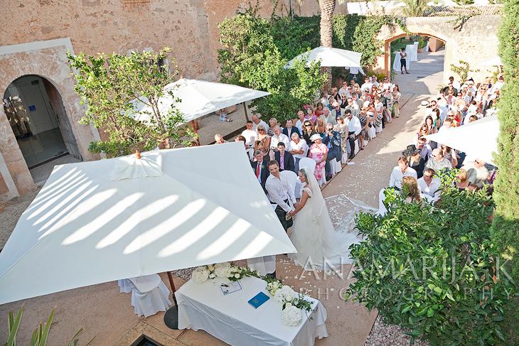 an old Majorcan patio
