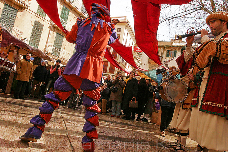 Day of the Balearic Islands - La Lonja, Palma de Mallorca