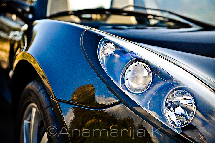 Lotus Elise - detail - editorial image